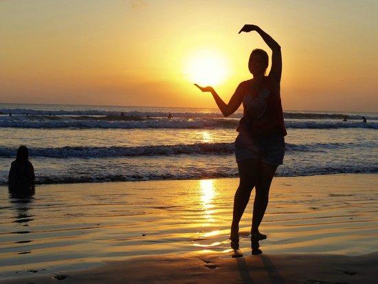 Kuta Beach - Bali: Eu estou aqui!!!