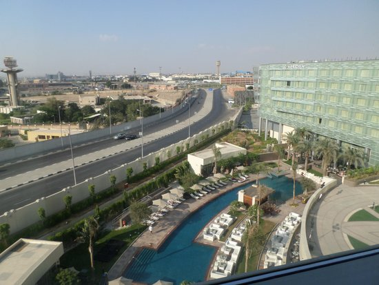 Le Meridien Cairo Airport: View from my room