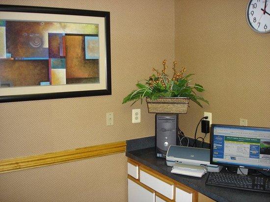 Holiday Inn Express Edgewood-I95: Business Center