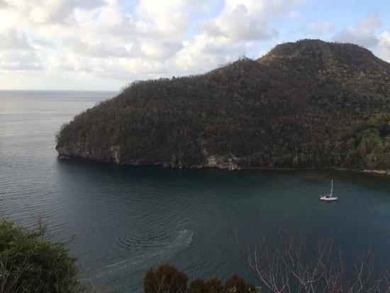 Oasis Marigot : View of Marigot Bay from Emerald Hill Villa