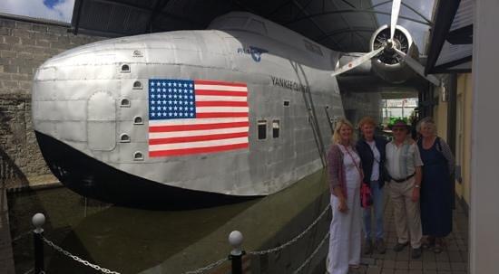 Foynes Flying Boat Museum : Yankee Clipper replica