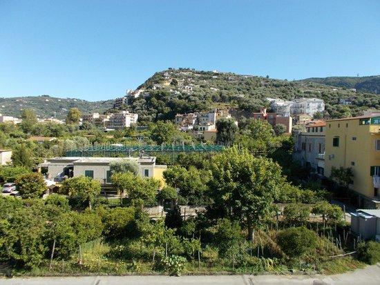 Hotel La Pergola: Roof top view.
