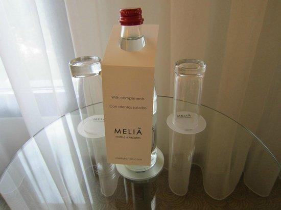 Melia Luxembourg : Mineralwasser