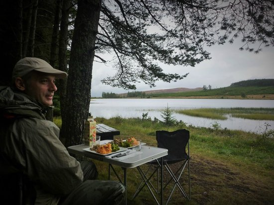 Fishinguide: Lunch time on the lake