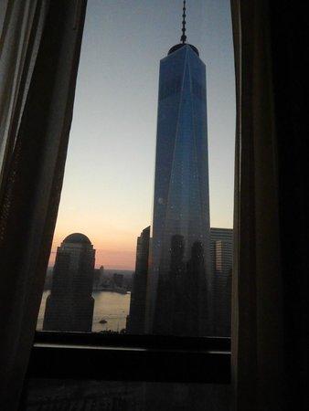 Millennium Hilton New York Downtown: Vista dalla nostra stanza