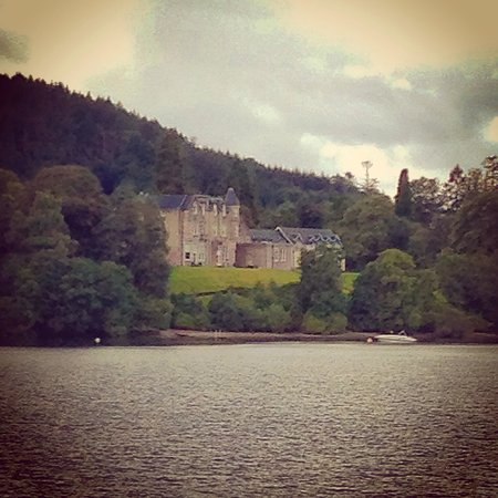Loch Lomond Shores: A view from the loch boat ride
