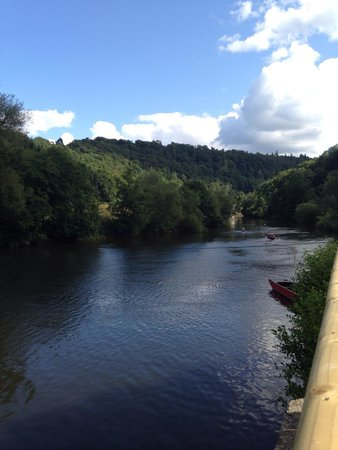 Ye Old Ferrie Inn: View of the River Wye