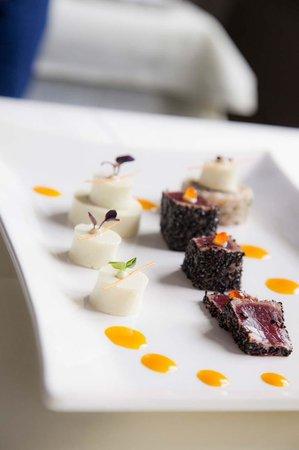 Miro's Ristorante: Sachimi vom Tunfisch im Sesammantel