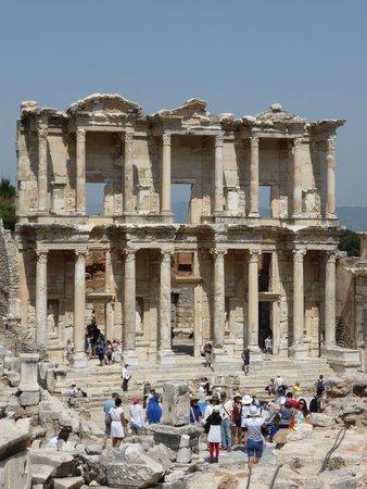 Ancient City of Ephesus: bibliothèque d'Éphèse