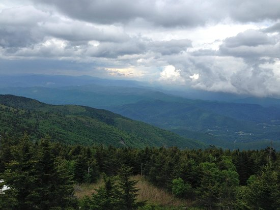Mount Mitchell State Park: Definitely feels like heaven