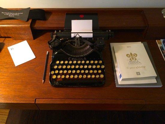 Hotel B: The Writing Desk