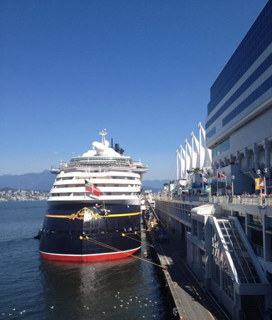 Pan Pacific Vancouver: Spectacular view from the htl