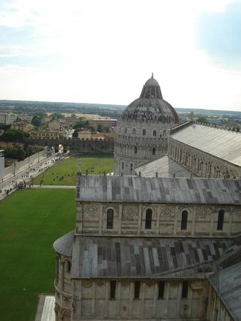 La tour de Pise (Campanile) : View from top