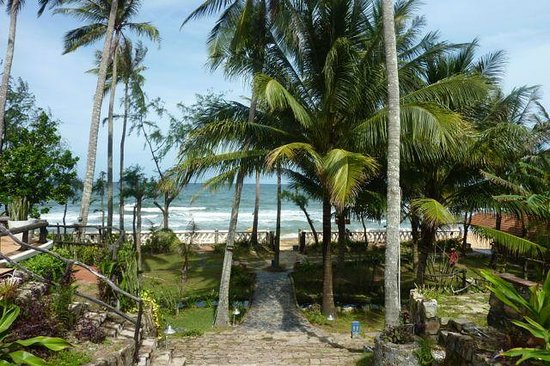 Cassia Cottage: vue plage