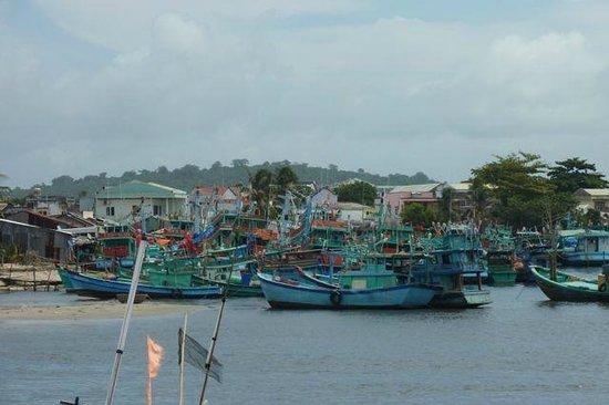 Cassia Cottage: le port de pêche