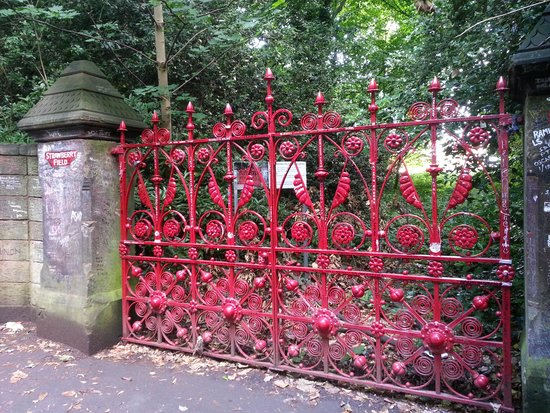 Beatles Magical Mystery Tour: Strawberry Fields Gate