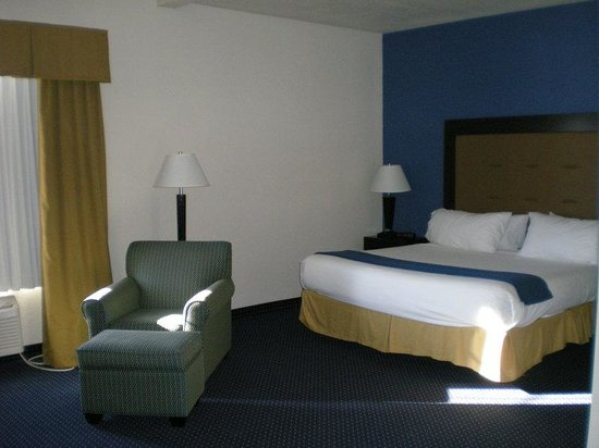 Holiday Inn Express New Buffalo: Single Bed Guest Room / handi cap room