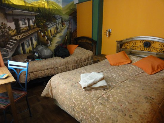 Hostal Sol Andino: my room