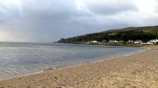 Darven Cottage B&B Sannox, Isle of Arran: The beach