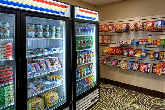 Holiday Inn Express & Suites Saginaw : 24 Hour Snack Shop