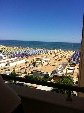 Hotel San Francisco Spiaggia: vista dalla mia camera