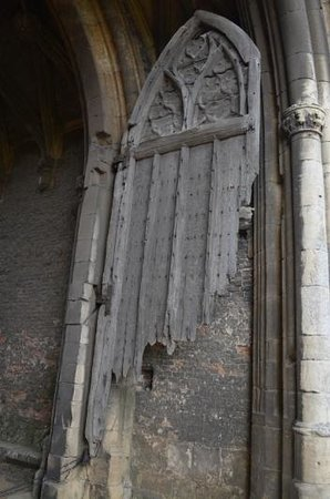 Thornton Abbey and Gatehouse Doors at Thornton Abbey Gatehouse from the 1400s & Doors at Thornton Abbey Gatehouse from the 1400s - Picture of ...