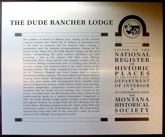 Dude Rancher Lodge: On the National Register for Historic Places