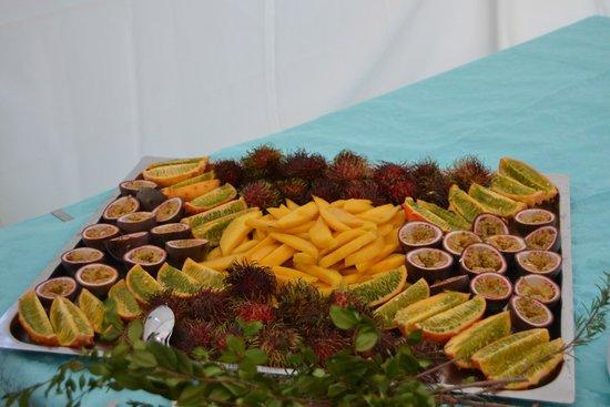 Club Hotel Baia Aranzos : frutta esotica