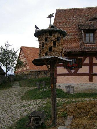 Frankish Open Land Museum (Fraenkisches Freilandmuseum): Taubenschlag