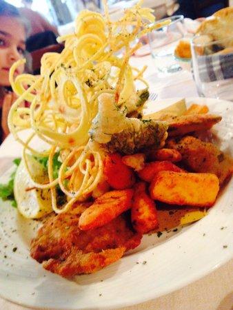 La Brinca: Fritto misto all'italiana