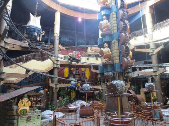 Freizeitpark Phantasialand: Tittle Tattle Tree  et  Winja's Fear&Force