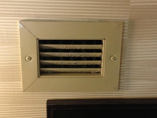 Crowne Plaza Jacksonville Airport Hotel : Bathroom Vent