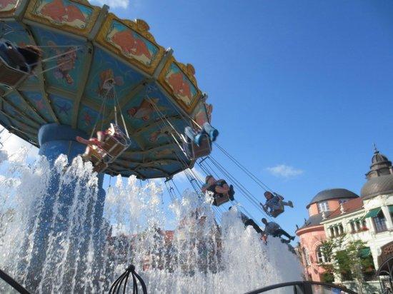 Freizeitpark Phantasialand: Wellenflug