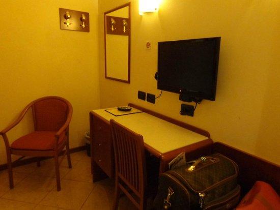 Smeraldo Hotel: Detalhe do quarto