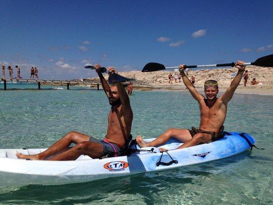 Playa de Ses Illetes: playa illetes