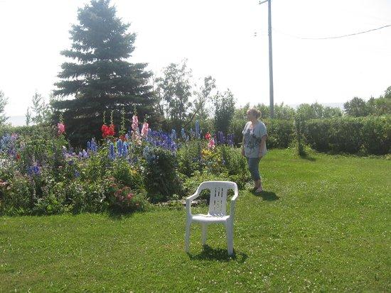 Solmundson Gesta Hus B&B & Wellness Center: Flower Garden