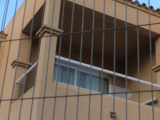 Grupotel Santa Eularia Hotel: Rooms behind bars