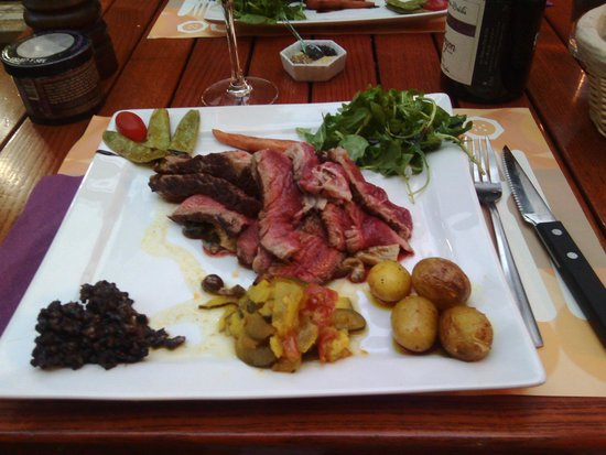 Le Kitch : cote de boeuf