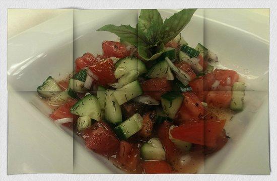 Bha! Bha! Bistro: Salad Sirazi......simple freshness