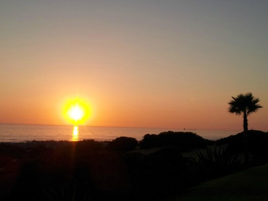 Iberostar Royal Andalus: La puesta de sol desde el hotel
