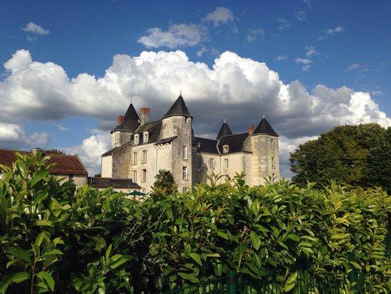 Château de Marçay  : Vue de la piscine