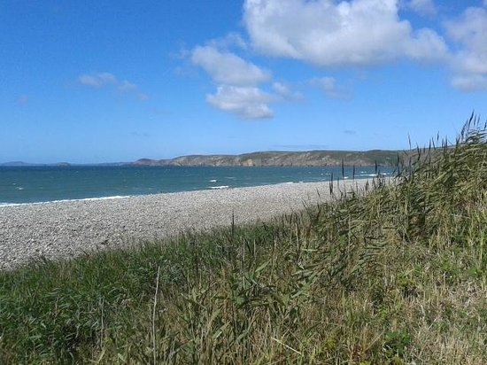 Newgale Beach: From the road
