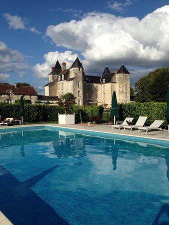 Château de Marçay  : La piscine