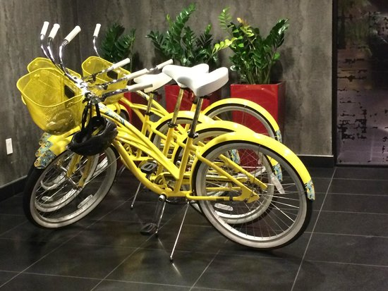 Hotel FIVE - A Staypineapple Hotel: Hotel Five free to use bikes