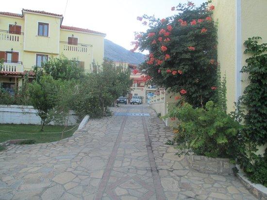 Agrilionas Beach Apartments: Hotellet