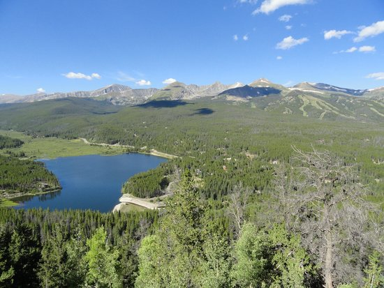 Boreas Pass Road: View from the road