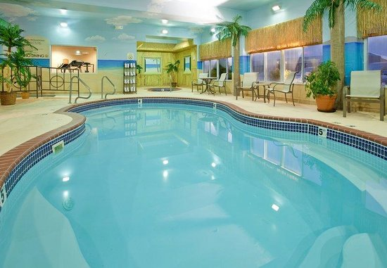 Swimming pool picture of holiday inn express hotel - Holiday inn hotels with swimming pool ...