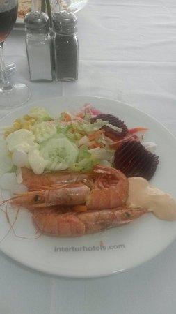 Intertur Hotel Hawaii Mallorca & Suites: Nice food