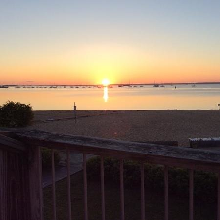 Provincetown Inn Resort & Conference Center: sunrise from our room balcony