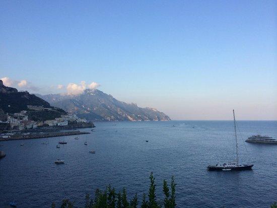 Santa Caterina Hotel: View from balcony